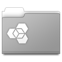 Folder, manager, Ext DarkGray icon