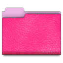 pink, Leather DeepPink icon
