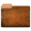 Folder, Brown, Leather SaddleBrown icon