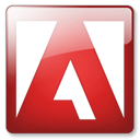 adobe DarkRed icon