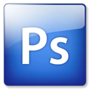 Ps, photoshop RoyalBlue icon