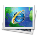 Browser, Ie Gainsboro icon