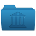 Library SteelBlue icon