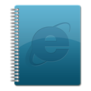 Ie, Browser Teal icon