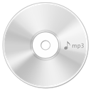 Cd, disc, save, Disk, Mp WhiteSmoke icon