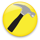 Captain, hammer Yellow icon