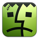 franken, Finder Black icon