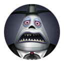 halloween, sorrow, mayor, town DarkSlateGray icon