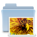 badged, photo, Folder, picture, image, pic LightSteelBlue icon