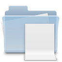 File, badged, document, paper, Folder LightSteelBlue icon