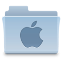 Folder, Apple LightSteelBlue icon