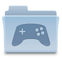 gaming, Game, Folder LightSteelBlue icon