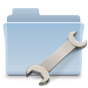badged, utility, Folder LightSteelBlue icon