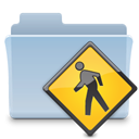 Folder, badged, public LightSteelBlue icon