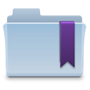 Folder, Favorite LightSteelBlue icon