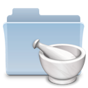 Recipe, Folder LightSteelBlue icon
