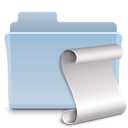 badged, script, Folder LightSteelBlue icon