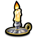 candlestick Black icon