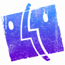 Finder RoyalBlue icon