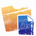 File, Folder, paper, document SandyBrown icon