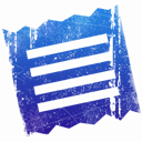 File, document, Text, Clipping RoyalBlue icon