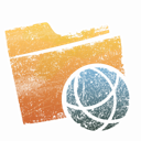 sharepoint, Folder SandyBrown icon