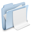 document, File, Folder, badged, paper LightSteelBlue icon
