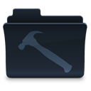 Folder, Developer DarkSlateGray icon