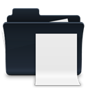 badged, document, Folder, File, paper Black icon