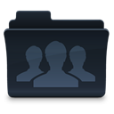 group, Folder DarkSlateGray icon