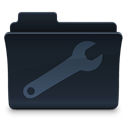 Folder, utility DarkSlateGray icon