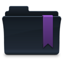 Favorite, Folder DarkSlateGray icon