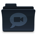 speak, Comment, Chat, Folder, talk DarkSlateGray icon
