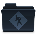 public, Folder DarkSlateGray icon