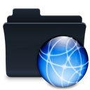 idisk, Folder Black icon