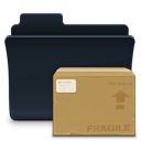 badged, Folder, package, pack Peru icon