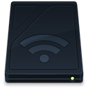 Airport, drive, Folder, onyx DarkSlateGray icon