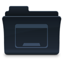 Folder, Desktop DarkSlateGray icon