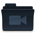 video, film, Folder, movie DarkSlateGray icon