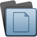 File, paper, document LightSteelBlue icon