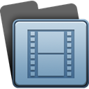 film, video, movie LightSteelBlue icon