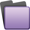purple, Folder Thistle icon