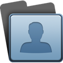 profile, Account, people, user, Human LightSteelBlue icon