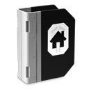 Building, Home, homepage, house Black icon