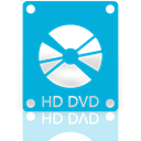 Dvd, Hd, Mirror DarkTurquoise icon
