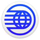 earth, Disk, globe, spaceship, world, save, disc, planet RoyalBlue icon