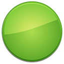 Blank, green, Empty, Badge YellowGreen icon