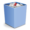 Full, Trash, recycle bin, Alt Icon