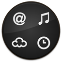 widget, Badge DarkSlateGray icon