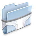Folder, Briefs LightSteelBlue icon